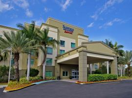 Fairfield Inn & Suites Fort Lauderdale Airport & Cruise Port, 다니아비치