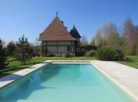 Manoir des Douets, Beuvron-en-Auge (рядом с городом Saint-Ouen-du-Mesnil-Oger)