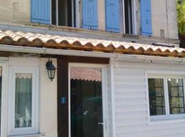 Holiday home La Rive, Mortagne-sur-Gironde (рядом с городом Бутенак)