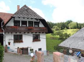 Ferien auf der Fleischdielte, Mühlenbach (Hofstetten yakınında)
