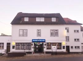 Hotel Pension Frankfurter Hof, Homberg Ohm