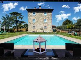 Villa Il Palazzo, Cortona (Santa Caterina yakınında)