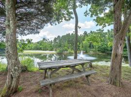 Chestnut Lake Camping Resort Porch Park Model 1, Port Republic