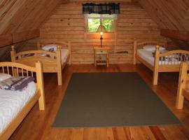 Appalachian Camping Resort Log Home 6