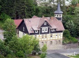 Haus Mit Turm, Rübeland (Elbingerode yakınında)