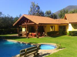 Parcela privada con piscina en Olmué, Olmué (Ojos Buenos yakınında)