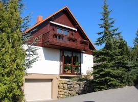 Ferienwohnung Rennsteigblick, Riechheim (Klettbach yakınında)
