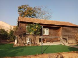 Cabin in the desert, Talmei Yosef (рядом с городом Ein HaBesor)