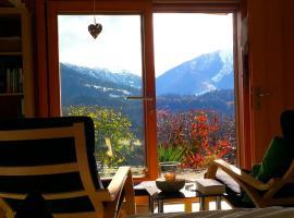 Ferienwohnung mit Sicht auf die Berge (Nähe Flims/Laax), Trin
