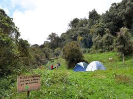 Camping Chucuri, Papallacta (Hacienda Chamanal yakınında)