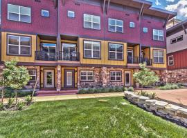 Park City Newpark Haven Townhouse Near Kimball Junction