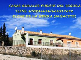 Casa Rural Puente Del Segura, Elche de la Sierra (рядом с городом Socovos)