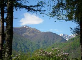 Camping Le Haut Salat, Се (рядом с городом Couflens)