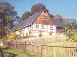 Ferienwohnung Richter, Neundorf (Drebach yakınında)