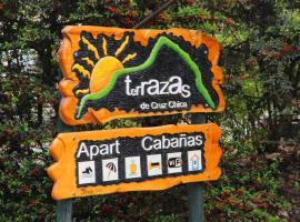 Terrazas de Cruz Chica., La Cumbre (Cruz Chica yakınında)