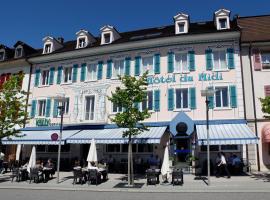 Hôtel du Midi, Delémont (Moutier yakınında)