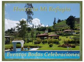 Hosteria Mi Refugio, Hacienda Irubí (Urcusiqui yakınında)