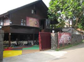 Villa & Resto Rumah Kayu, Lembang (рядом с городом Bengkok)