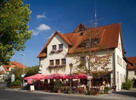 Hotel Tilman, Münnerstadt (Bad Neustadt an der Saale yakınında)