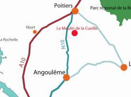 gite moulin de la Cueille, Romagne (рядом с городом Château-Garnier)