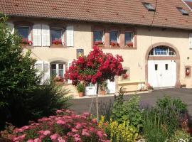 Chambre d'hôte au Grenier d'Abondance, Niderviller (рядом с городом Plaine-de-Walsch)