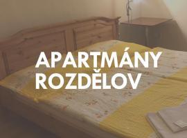 Apartmány Rozdělov, Kladno (Rozdělov yakınında)