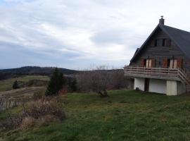 Chalet La Marmotte, Chastreix (рядом с городом La Tour-d'Auvergne)