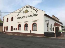 Rybářská restaurace a penzion u Horáků, Uničov (Hradečná yakınında)