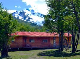 Cabañas El Bosque, Villa Cerro Castillo (Puerto Ingeniero Ibáñez yakınında)