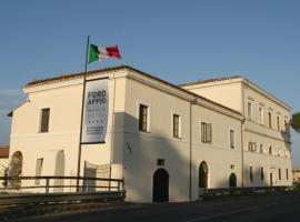 Foro Appio Mansio Hotel, Faiti (Sezze yakınında)