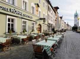 Hotel & Gasthaus DAS RÖHRL Straubing, Straubing (Atting yakınında)