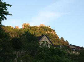 L'Aristoloche, Salins-les-Bains (рядом с городом Nans-sous-Sainte-Anne)