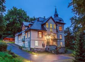 Gästehaus Villa Rose, Dürrröhrsdorf (Lohmen yakınında)