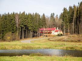 Gostinitsa biatlonnyi komplieks Selets, Novogrudok (Vselyub yakınında)