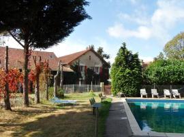 Chambres d'Hôtes Domaine du Bourg, Gannay-sur-Loire (рядом с городом Paray-le-Frésil)