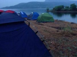 Pavana lake view camping
