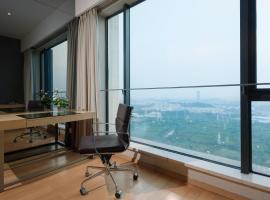 Pazhou Poly World Trade Centre Apartment - YiCheng, Guangzhou (Tangxia yakınında)