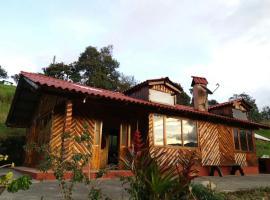 Cabaña de madera LA KOCHA, El Encano