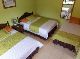 Hotel Villa de Ada, Gracias (рядом с городом Santa Rosa de Copán)