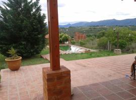 Casa parque siquiman, Tanti Nuevo (Villa García yakınında)