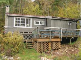 Three-Bedroom Holiday Home in Bofjorden