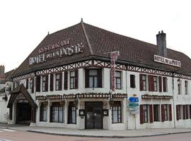 Hôtel Restaurant de la Poste, Saulieu (рядом с городом La Motte-Ternant)