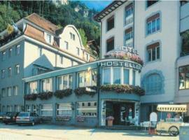 Hotel Sternen, Fluelen (Bauen yakınında)