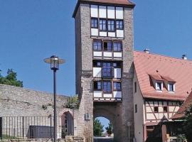 Jakobsturm Ferien im Turm, Röttingen (Creglingen yakınında)