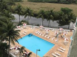 Apart hotel Camboinhas, Niterói (Itaipu yakınında)