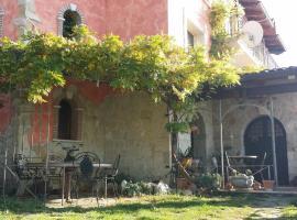 Evandro Re, Rocca d'Evandro (Galluccio yakınında)