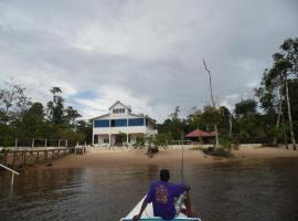 Sloth Island Nature Resort, Bartica (рядом с городом san martin)