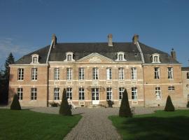 Château de Yaucourt Bussus, Yaucourt-Bussus (рядом с городом Сен-Рикье)