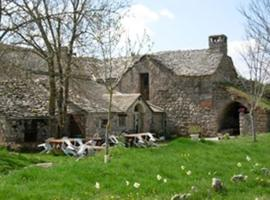 Ferme Auberge La Tindelle, La Cresse (рядом с городом Le Rozier)