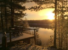 Hirvikari Lodge, Jokela (рядом с городом Tapio)